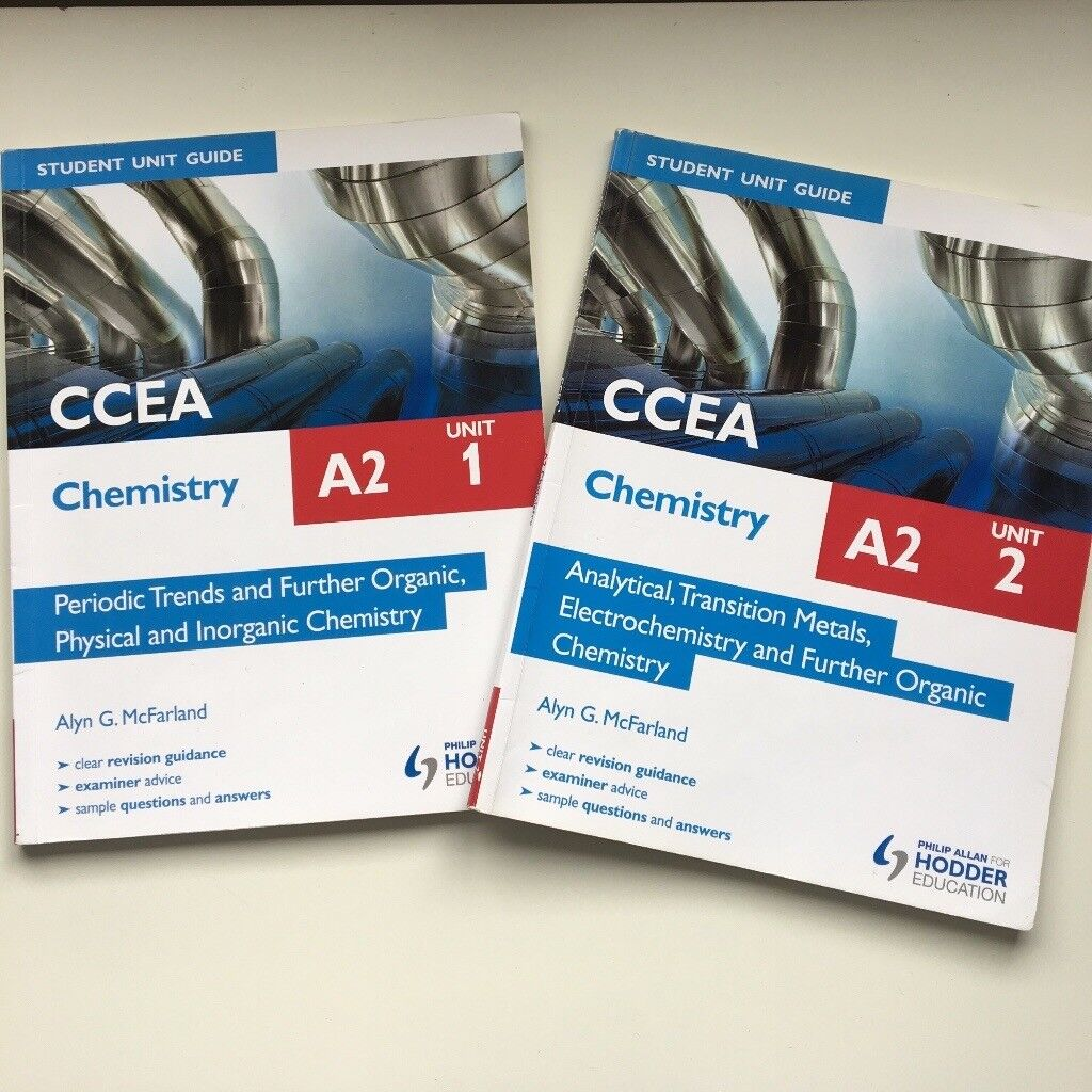 Chemistry ccea a2 revision guides both books included in county chemistry ccea a2 revision guides both books included urtaz Gallery