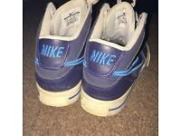 Nike Air Forces high tops size 4