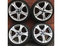 17 inch alloy wheels tyres Renault Clio Megane Adam Vauxhall Corsa Suzuki swift Kia Rio alloys rims
