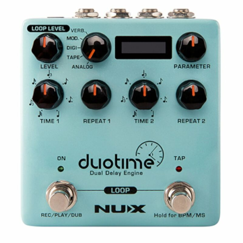 NuX Duotime NDD-6 Dual Delay Engine Open Box