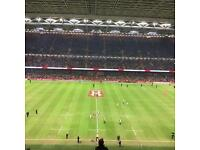 Wales Rugby Debentures with Face Value Wales v England
