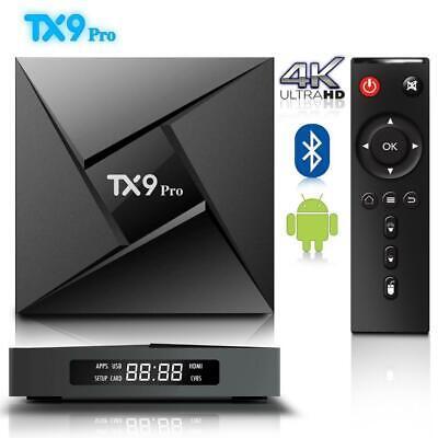 TX9 PRO 3GB 32GB Smart Android 7.1 TV Box Amlogic S912 Octa Core 64Bit Dual WIFI