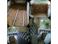 Bathroom and Kitchen Fitter Tiler