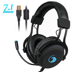 Gaming Headphone with Sound and USB Gaming Headset