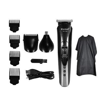 Cortadora de cabello para hombres con recortadora eléctrica 3 en 1 con...
