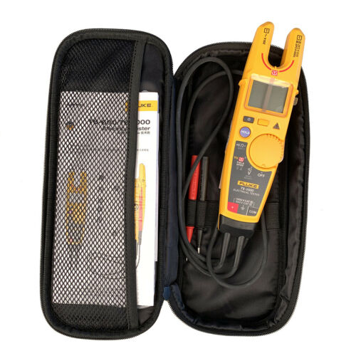 Fluke T6-1000 Clamp meter Electrical Tester FieldSense Technology&carry case