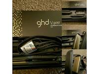 GHD V Gold straighteners