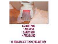 Fat freezing, fat freeze, ultrasound cavitation, ultrasonic cavitation, radio frequency