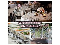 Event Management. Venue Hire, Event Decoration, Equipment services, Catering & DJ/MC services