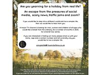TV SERIES - SEEKING PEOPLE TO TAKE A HOLIDAY FROM THE ORDINARY
