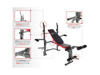 CrystalTec adjustable Weights Bench