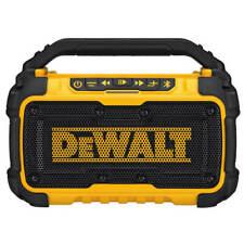 DEWALT DCR010 12-Volt/20-Volt MAX Bluetooth Speaker (Tool Only)