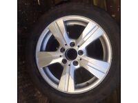 mercedes w169 / w245 alloy wheel
