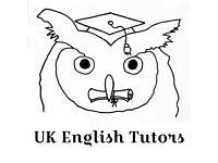UK English Tutors, TEFL qualified, learn English/ IELTS/ CEFR