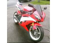Yamaha Yzf R6 low mileage!! Track/road ready