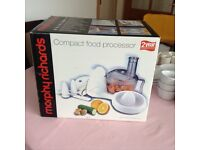 Morphy Richards Food Processer £20