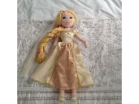 Disney Rapunzel large soft doll