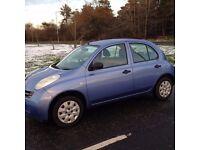 Nissan Micra 1.2i S , ------ 62000 Miles ------ , 5 Door Hatch , MOT 11 Months , Excellent Condition