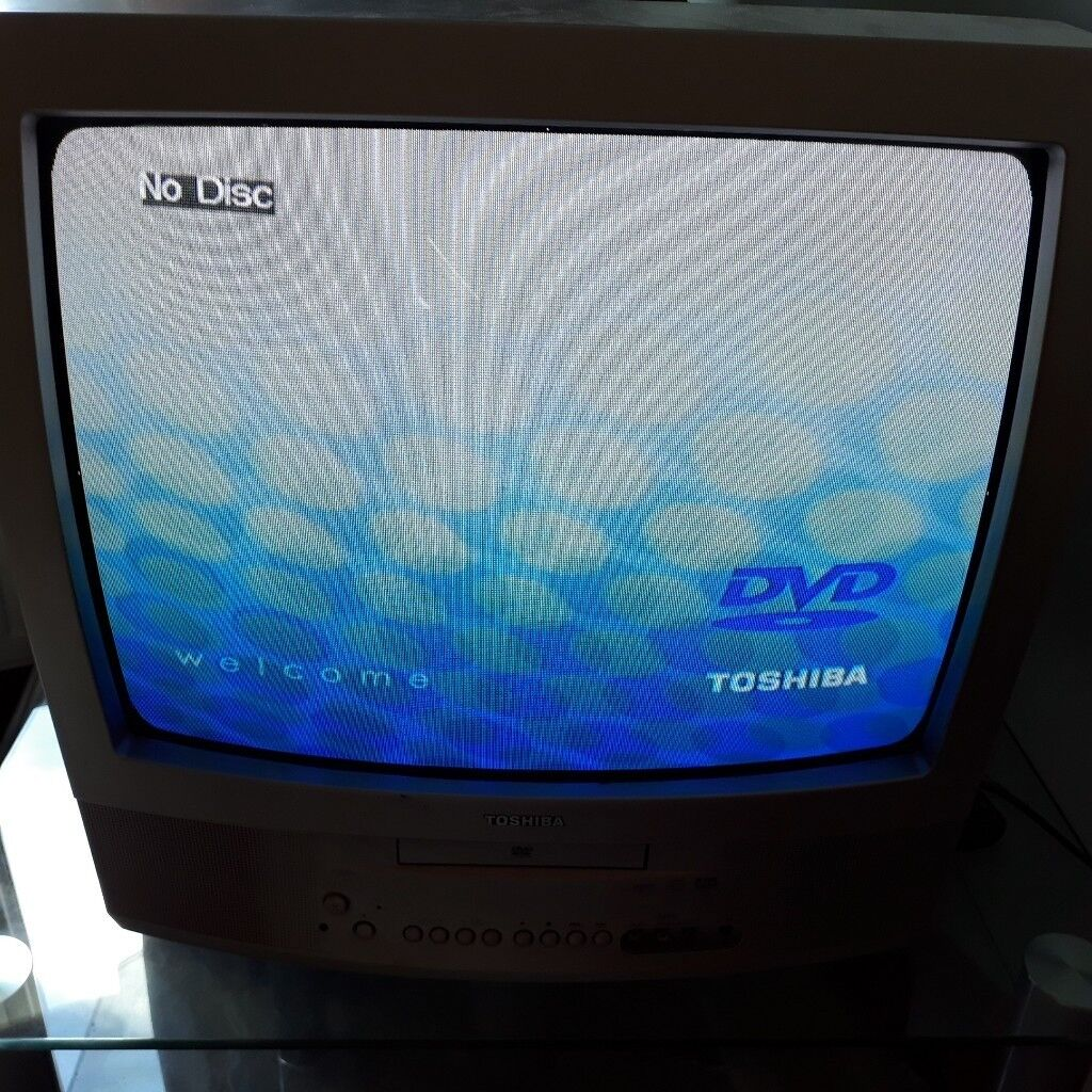 Toshiba TV and DVD Player, silver | in Ealing, London | Gumtree
