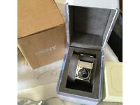 Genuine DKNY watch,bracelet,necklace and ring