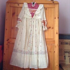 Vintage girls maxi dress, age 5