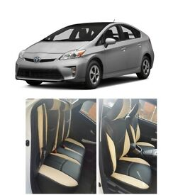 LEATHEE CAR SEAT COVERS TOYOTA PRIUS 2000-2015 2016-2018
