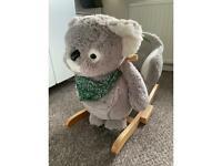 Rocking koala