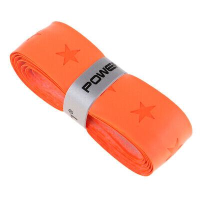 Tennis Federball Badminton Griffband Schlägertape Schlägern Overgrip Orange (Tennis-ball Grip)