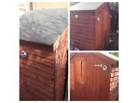 Shed approx 6x3