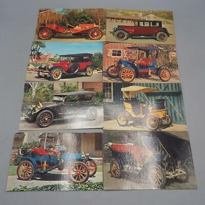 Vintage Pennzoil Z-7 Aceite de Motor Publicidad Automovil Tarjetas Postales Lote