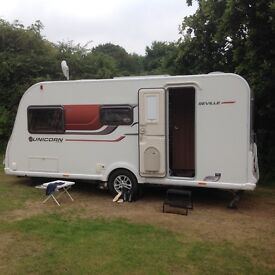 Bailey Seville 3, 2 berth, (2015) Conventional for sale in Essex | CS7048A7B