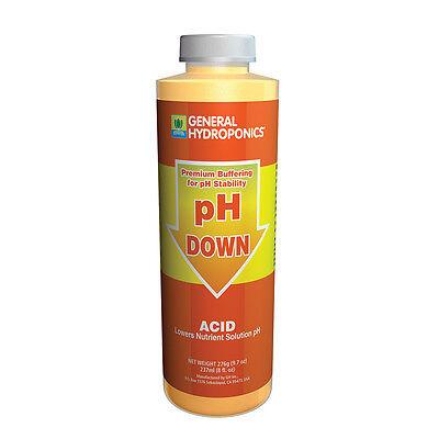 General Hydroponics Ph Down 8 Oz Ounce   Concentrat E Acid