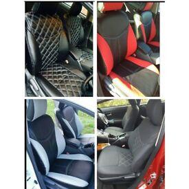 LEATHER CAR SEAT COVERS FOR VAUXHALL ZAFIRA TOYOTA VERSO VOLKSWAGEN PASSAT CC SPORT HONDA INSIGHT