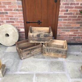 English Wooden Crates - £15 each