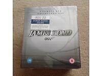 Bnib James Bond dvd set