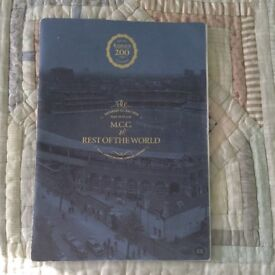 The Official Matchday Programme of the MCC v ROTW game to mark 200 years of playing at Lords.