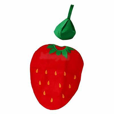 Funny Strawberry Suit for Kids Boys Girls Birthday Party Halloween - Funny Costumes For Girl