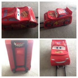 Kids suitcase-lightening McQueen