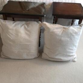 Laura Ashley cushions beige