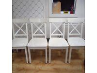 4 x Ikea Ingolf Dining Chairs