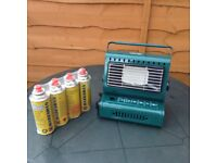 Camping heater New condition, (never been used)