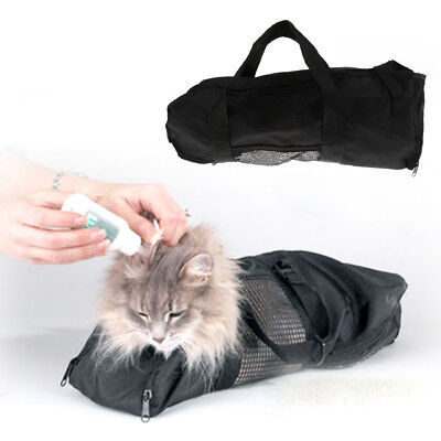 Cat Grooming Nail Clipping Bathing Bath Bag NO BITE SCRATCH Restraint