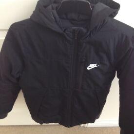 Boys Black Nike Jacket Age 12/13 Yrs