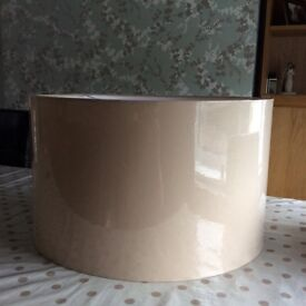 Lampshade large drum shape
