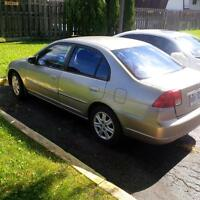 2005 Honda Civic 4-door automatic only $2000