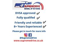 PROFESSIONAL DRIVING LESSONS   DVSA APPROVED DRIVING INSTRUCTOR   SUPR