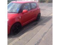 Red Suzuki swift 2006 seap or sale