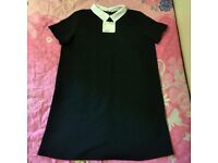 Sales Off - Zara Office And Hang Out Dress - Size M/28 - Black - Freeship