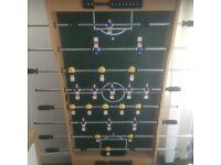 4ft fold away Table football