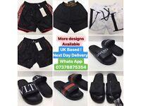 Gucci Swimming Shorts Valentino Shorts Versace Designer shorts sliders UK cheap London essex croydon
